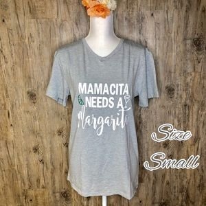 Tops - Mamacita needs a Margarita T-shirt
